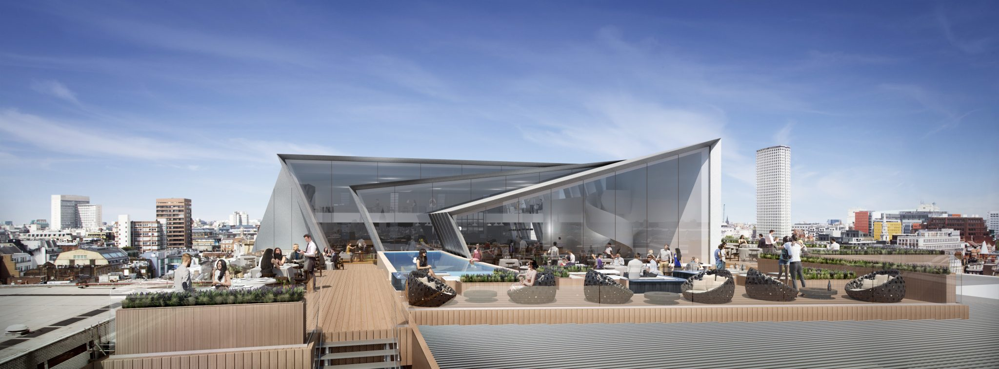 Planning Consent Secured For Trocadero Rooftop Bar Gt Bmce