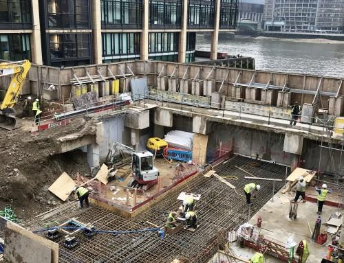 Queensbridge House – Raft Slab Construction is underway