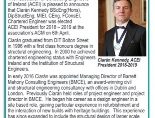 Sunday Business Post – ACEI announces the appointment of a new president