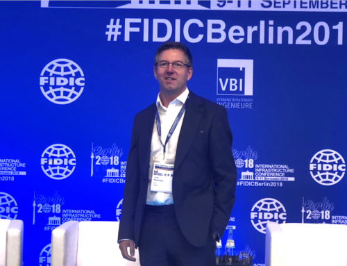 Ciaran Kennedy attended the FIDIC Infrastructure Conference 2018 in Berlin
