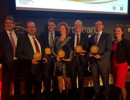 European CEO Awards: Ciaran receives CEO of the Year Award 2018