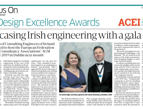 ACEI – Showcasing Irish Engineering with a gala event