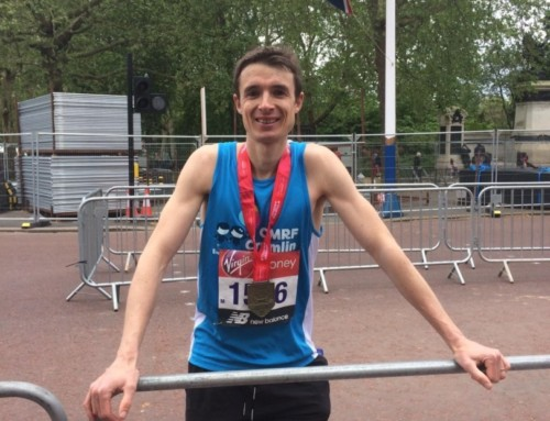 Paul Stephenson completes London Marathon in 2:29:46!