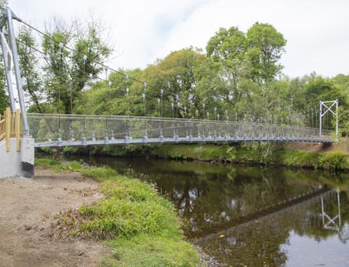 New bridge over Avonmore named for Samuel Hayes of Avondale